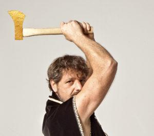 Die goldene Axt: Gerhard Greiner als Holzhans