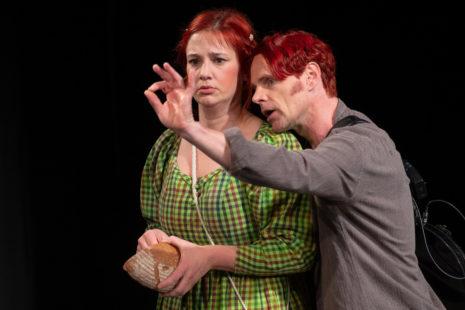Bina Blumencron (Salome), Theo Helm (Titus)