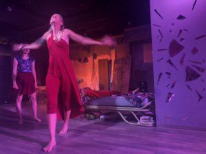 Alexandra Pfeifer & Caroline Ruske als Nico