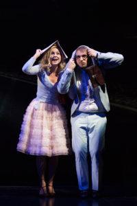 THE ROCKY HORROR SHOW: Janet (Patrizia Unger) und Brad (Martin Trippensee)