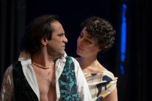 REIGEN: Simon Jaritz (junger Herr), Tilla Rath (junge Frau)