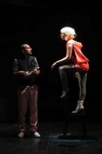 REIGEN: Bülent Özdil (Graf), Tilla Rath (Schauspielerin)