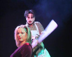"""""""Lederfresse"""" mit J. Brandstätter © SalzburgerTourneeTheater"""