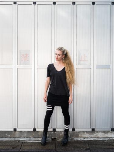 Cornelia Böhnisch in Tokyo, Foto Martin Holtkamp